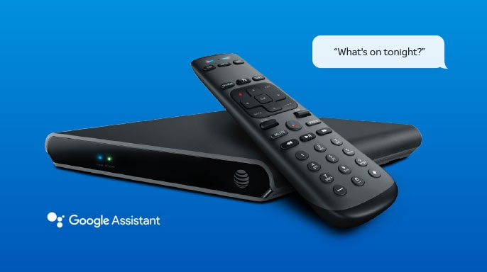 AT&T TV streaming device and voice remote